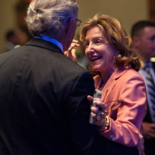 Congressional Sportsmen's Caucus Alumni Co-Chair and Honorary Board Member the Hon. Lindsay Thomas with Sen. Kay Hagan (NC)