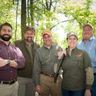 Brent Robinson (Office of Rep. Wittman), Rob Keck (Bass Pro Shops), Paul Babaz (SCI), Melissa Simpson (SCI), Rep Billy Long (MO)
