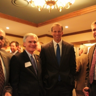 Don Masch (ATK), Rep. Bob Latta (OH), Sen. John Thune (SD), Bill Johnson (ATK)