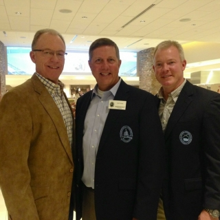 CSF Board Member Bruce Culpepper (Shell), CSF President Jeff Crane, Rep. Brandon Phelps (IL)