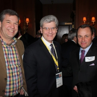Bill Johnson (ATK), Governor Phil Bryant (MS), Sean Collins (Altria)