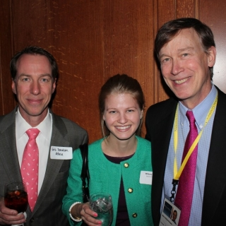 Eric Donaldson (Altria), Whitney Tawney (Ducks Unlimited), Governor John Hickenlooper (CO)