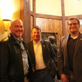 Chris Horton (CSF), Rep. Adam Lusker (KS), Rep. Travis Couture-Lovelady (KS)