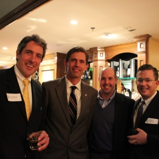 Greg Schildwatcher (Watershed Results), CSC Member Sen. Martin Heinrich (NM), Pat Rothwell (National Shooting Sports Foundation), Mitch Butl