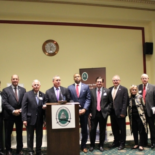 Members of the Congressional Sportsmen's Caucus.