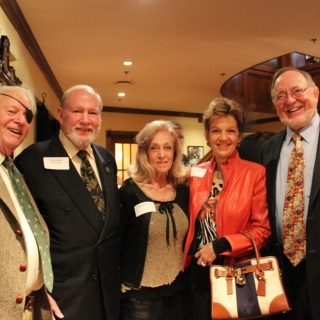 Jim Desmond (Lockheed Martin), The Hon. Dick Schulze, Anne Walton, Nancy Schulze, Rep. Don Young (AK)