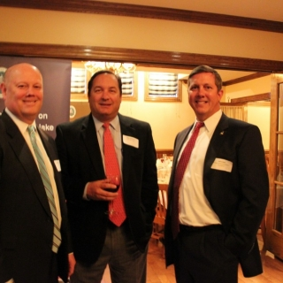 Larry Keane (NSSF), Mike Williams (Barnes &Thornburg), Jeff Crane (CSF)