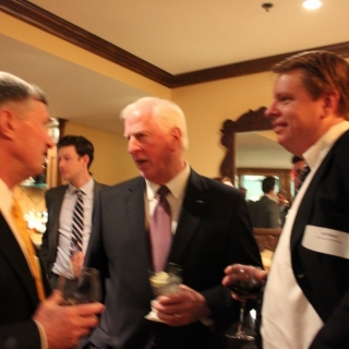 Otto Weigl (Remington), Rep. Mike Thompson (CA), Jeff More (The Accord Group)