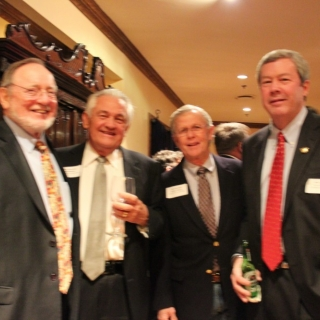Rep. Don Young (AK), The Hon. Bill Brewster, The Hon. Lindsay Thomas (CSC Alumni Co-Chair), Ben Carter (DSC)