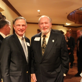 Steve Sanetti (NSSF), The Hon. Dick Schulze (CSC Alumni Co-Chair)