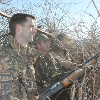 Senator Tom Cotton (AR) hunting