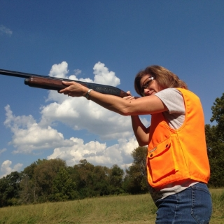 Congresswoman Vicky Hartzler (MO) at the shooting range