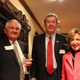 The Hon. Bill Brewster, Ben Carter (DSC), Sen. Kay Hagan (NC)