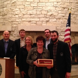 CSF States Program Team presents Sen. Pam Roach (WA Sportsmen's Caucus Chair) with NASC Heritage Award