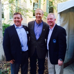 CSF President Jeff Crane, Governors Sportsmen's Caucus member Governor Bruce Rauner, and Illinois Sportsmen's Caucus Co-Chair Rep. Brandon P