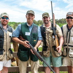 Team B: Trevor Santos (NSSF), Congressman Steve Pearce, Pat Rothwell (NSSF), Mitch Butler (Natural Resource Results)
